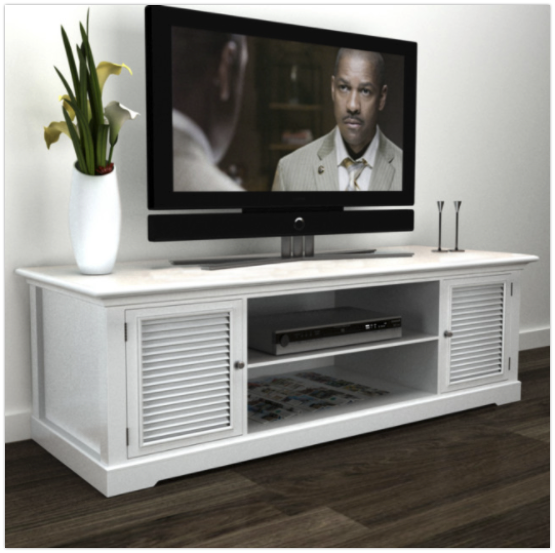 vidaxl-white-wooden-tv-stand-beach-style