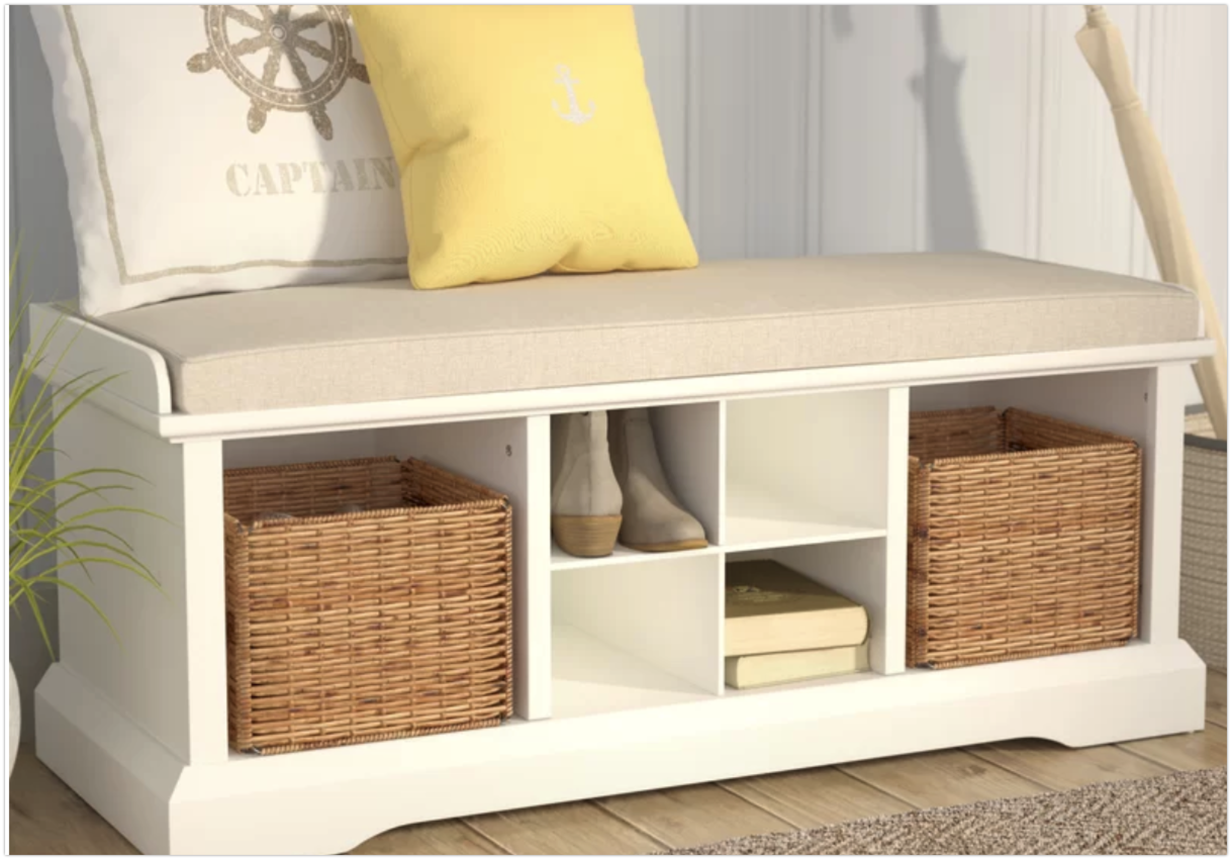 white-rattan-storage-shoe-storage-bench