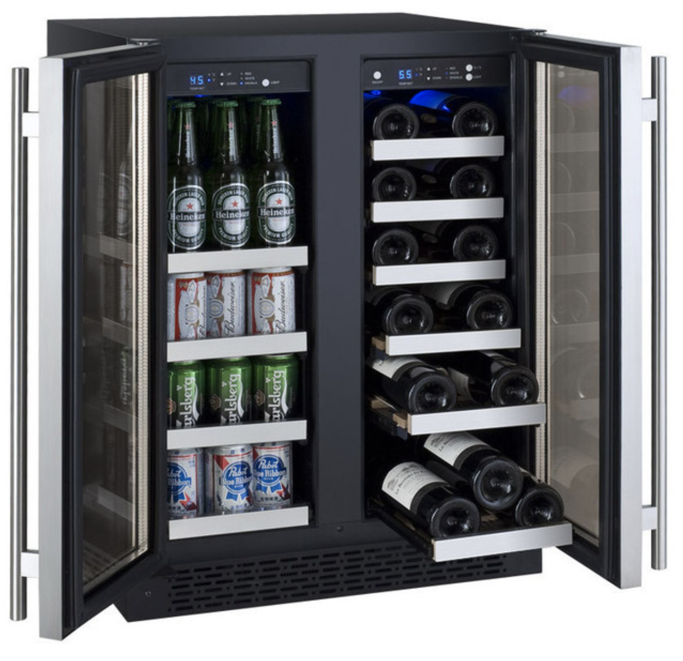 flexcount-series-two-door-wine-refrigeratorbeverage-center