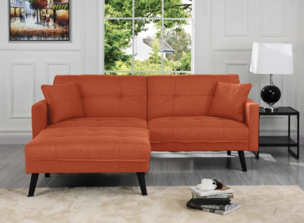 7 Beautiful Orange Sectionals For Modern Homes Cute Furniture