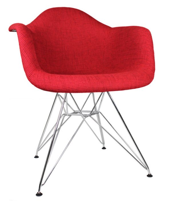 fabric-upholstered-accent-arm-chair
