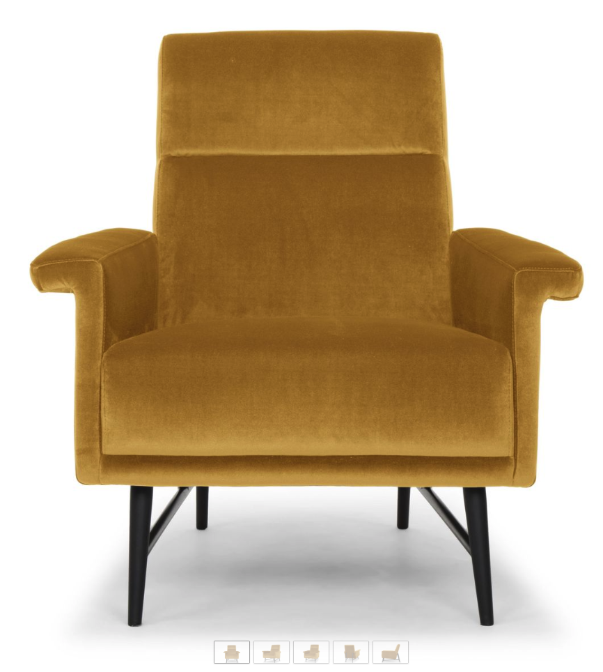 6 Mustard Yellow Accent Chairs For Stylish Homes Cute