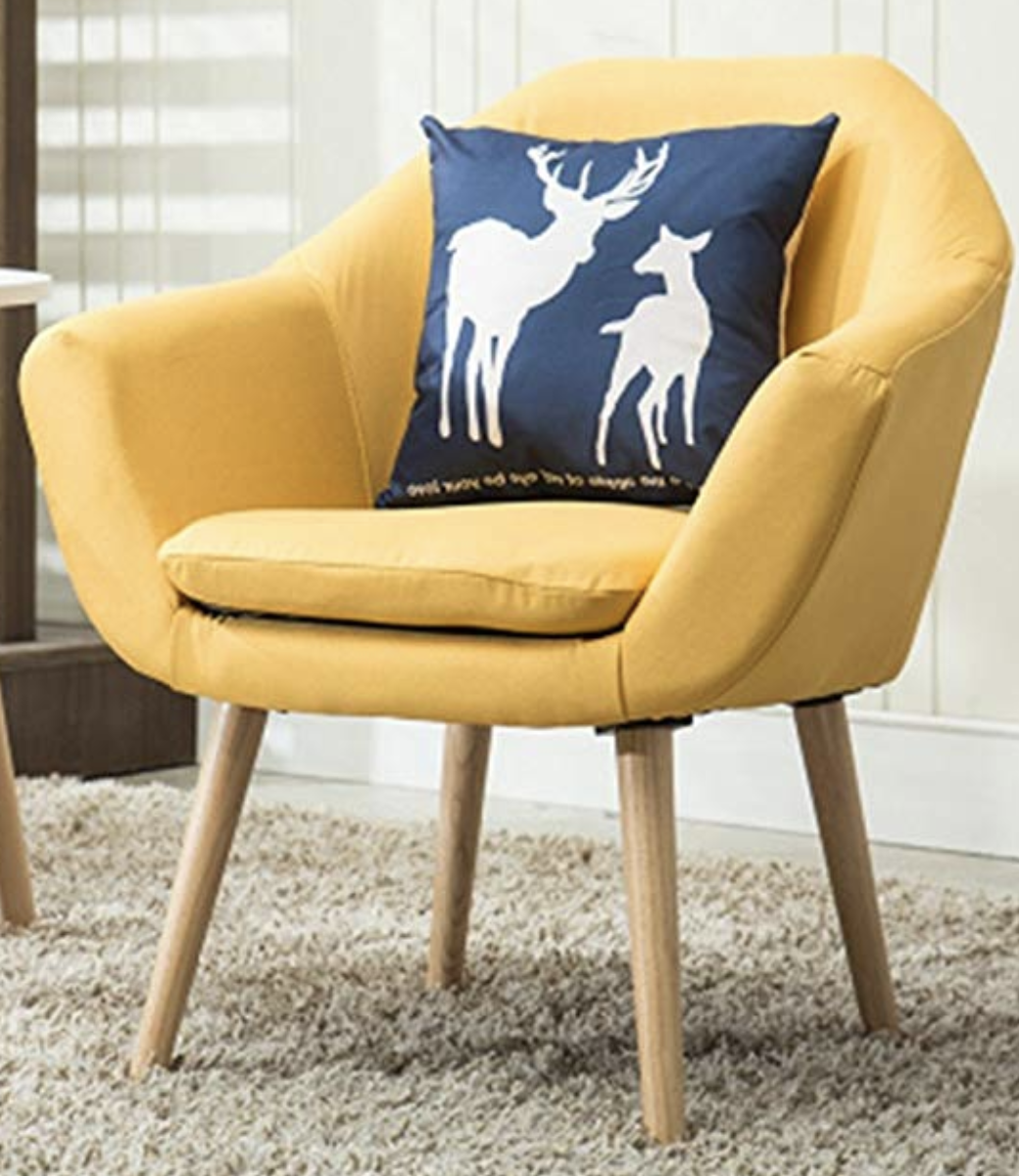 mustard-accent-chair